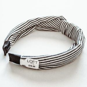 NWT LOFT Outlet Knotted Headband